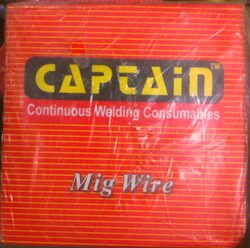 CAPTAIN MAKE 70-S6 (C02 COATED) MIG WIRE